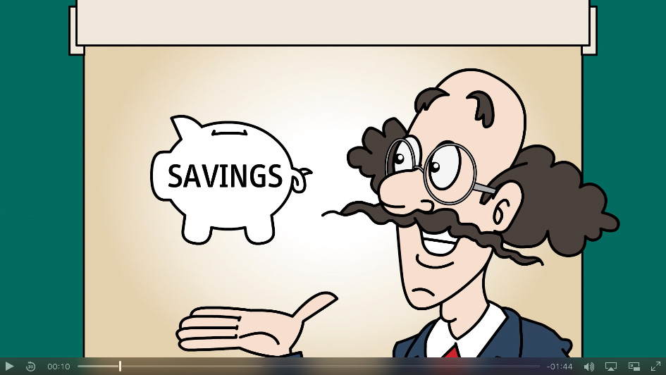 Click to Learn Professor Nick's Tips on Saving for the Future