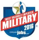 Most Valuable Employer Military 2016 - Civilian Jobs .com